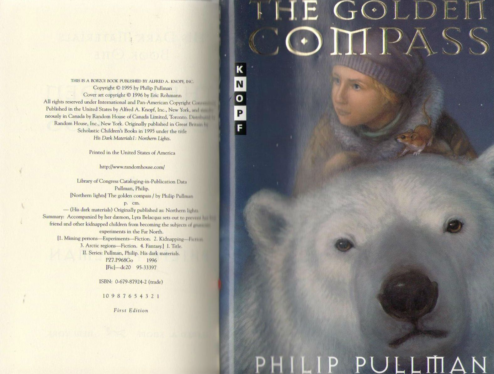 The Golden Compass (His Dark Materials), Pullman, Philip
