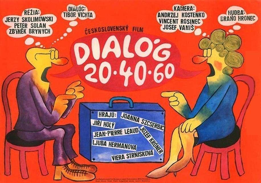 dialog2040601968 Zbynek Brynych & Jerzy Skolimowski & Peter Solan   Dialóg 20 40 60 (1968)