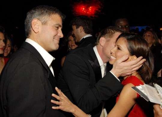 Eva Longoria y George Clooney