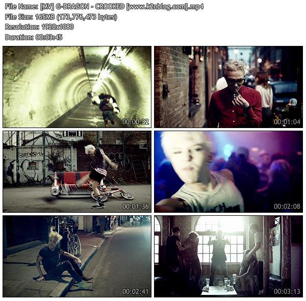 (MV) G-DRAGON - CROOKED (HD 1080p Youtube)
