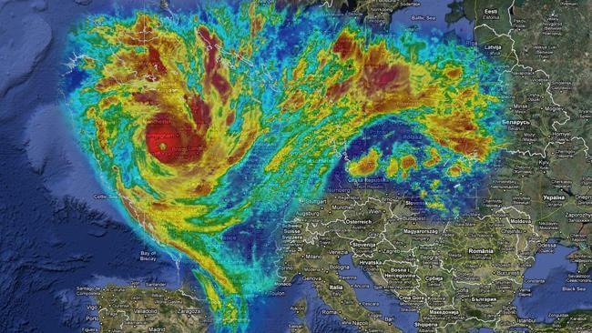 Severe Weather\ Iii M3ga V 71: Storm Maps Europe At Infoasik.co