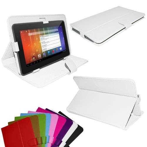 Etui blanc avec chevalet pour tablette pc de 9 7 pouces ebay - Tablette 7 pouces combien de cm ...